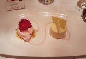 crema rosada e gelato al rosmarino_bistrot de venise
